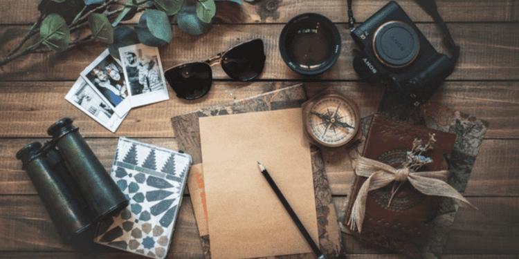travel writer desk