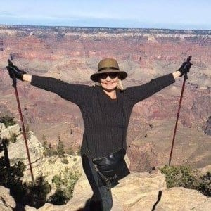 FInancial Womens Empowerment: Katana Abbott CLimbs a mountain